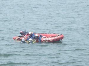 ボート救出